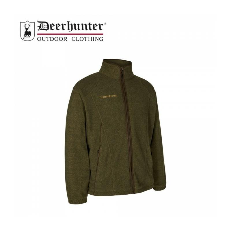 Deerhunter  zöld kabát - Wingshooter Fleece w. Membrane