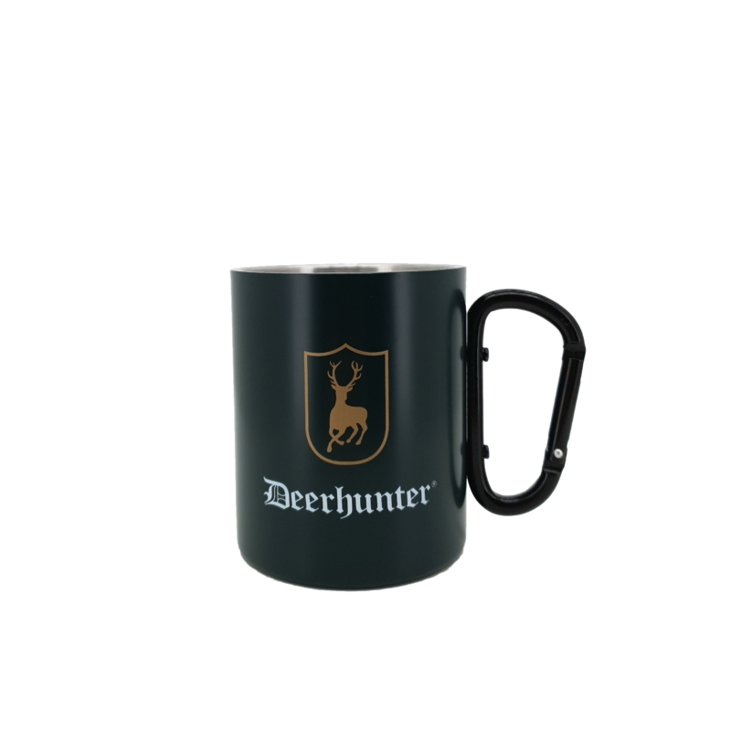 Deerhunter fém bögre karabinerrel - Cup w. Hook