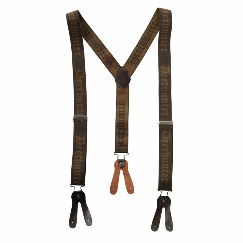 Deerhunter nadrágtartó - Logóval ellátott, gombos 130 cm