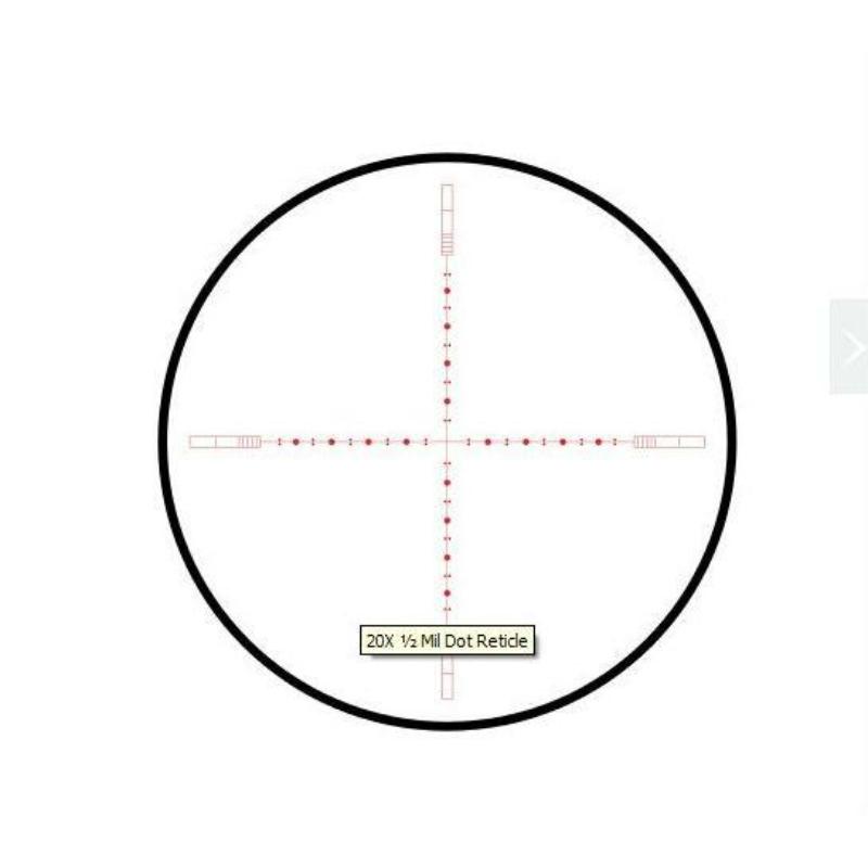 Hawke céltávcső Sidewinder 6-24X56 30 IR 20xHalf Mil-Dot-0