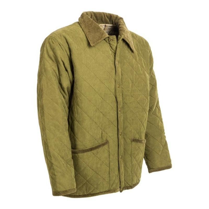 M-Tramp steppelt kabát - zöld
