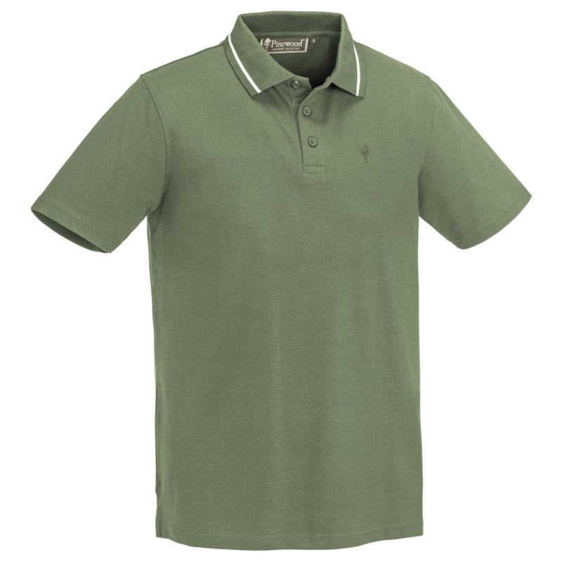 Pinewood® OUTDOOR LIFE PÓLÓ ING - zöld póló