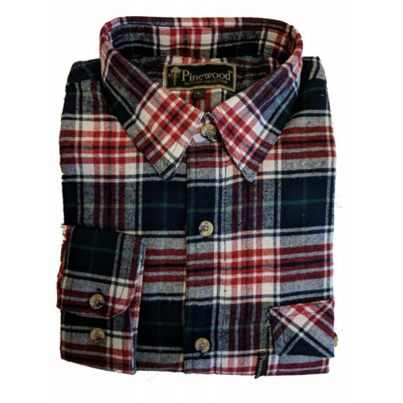 Pinewood flannel ing- Texas Flannel Shirt