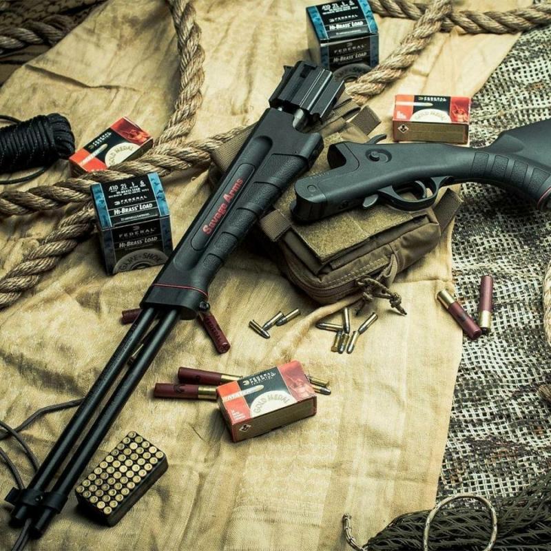 Savage golyós puska - Savage 42 Takedown 22WMR/410-1