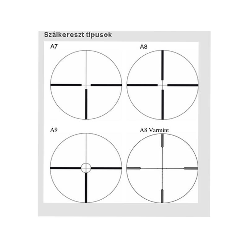 Schmidt Bender classic 4-16x50 céltávcső-0